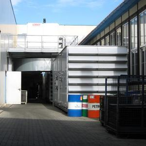 Lüftungsanlage Getriebewerk Wernigerode